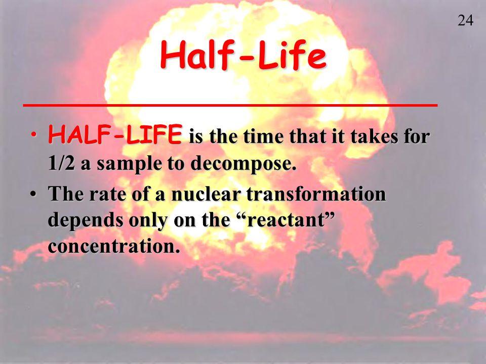23 Half-life