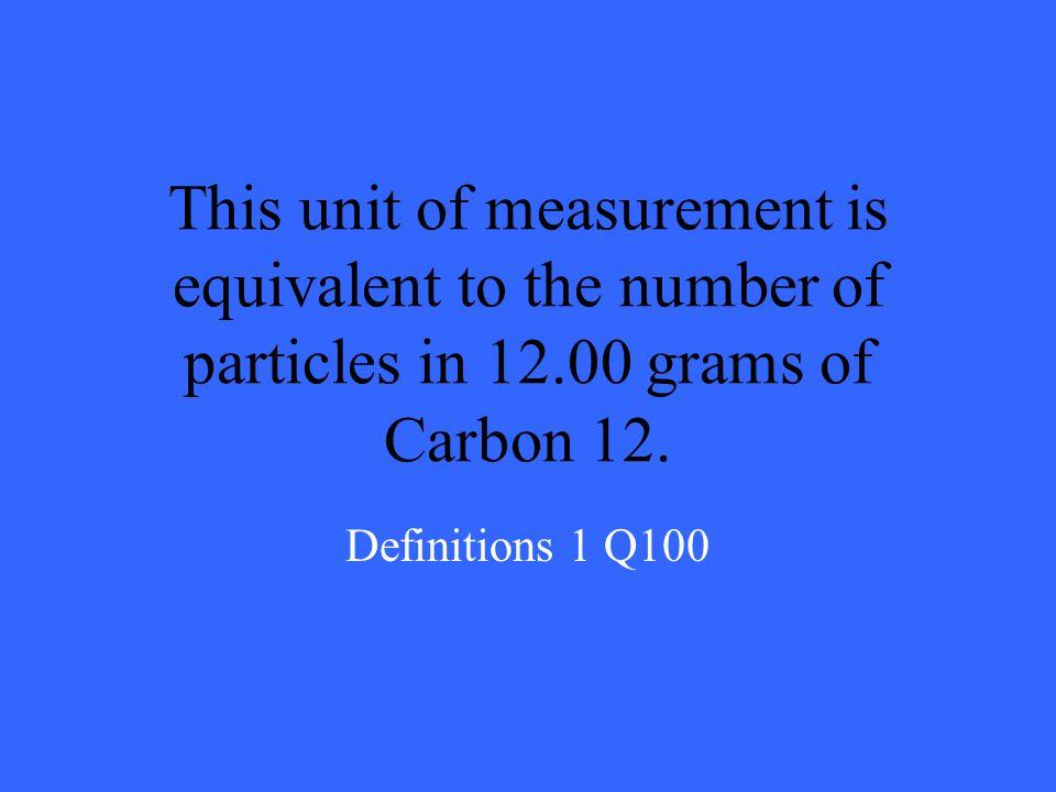 200 300 400 500 100 200 300 400 500 100 200 300 400 500 100 200 300 400 500 100 200 300 400 500 100 Definitions 1Definitions 2 Limiting Reactants Perc