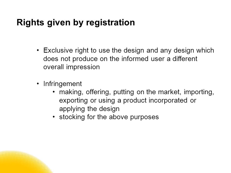 UK unregistered design right Original design the shape or configuration (whether internal or external) of an article comparison with articles in same field at time of creation not commonplace in any qualifying country Exceptions must fit/must match