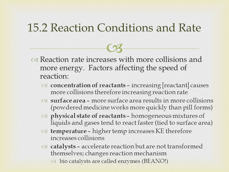   Reaction mechanisms refer to the sequence of bond- making and bond-breaking steps that occurs during the conversion of reactants to products.