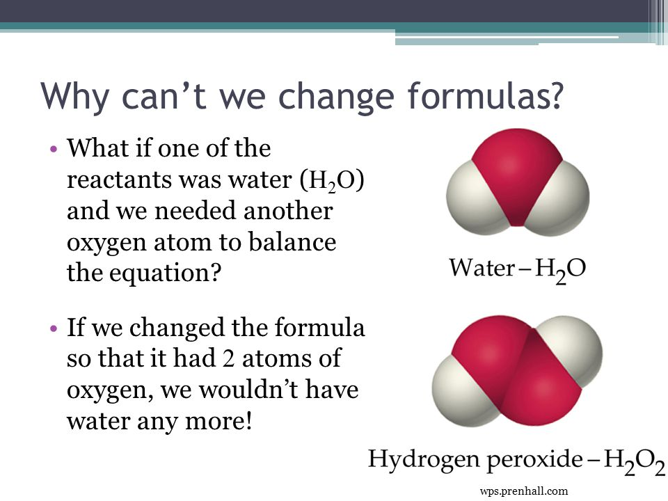 Why can't we change formulas.