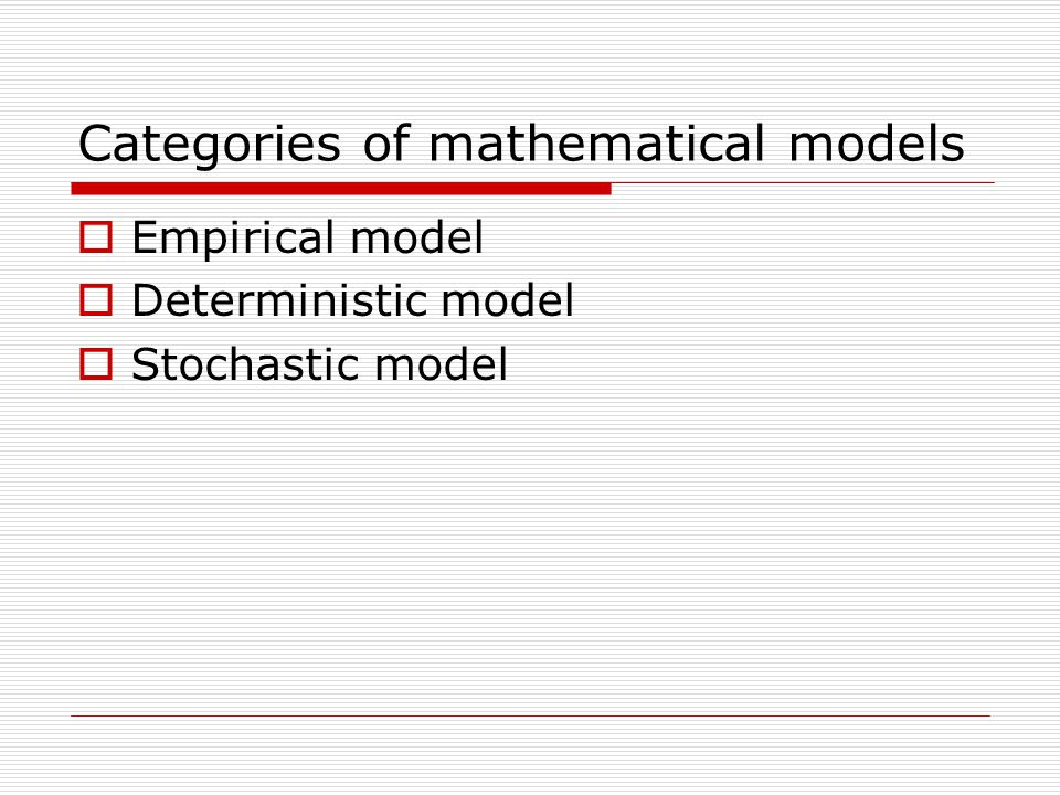 Accuracy  Highly accurate models: time/energy consuming, costly  Moderately accurate models: quick, low cost  For engineering purpose: does not need 100% (absolute) correct answers  we can do with 'careful estimation based on theoretical supports'