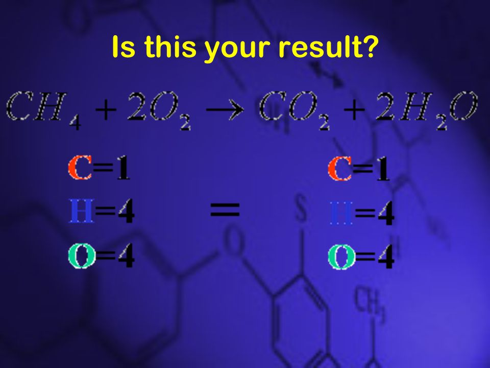 Is this your result