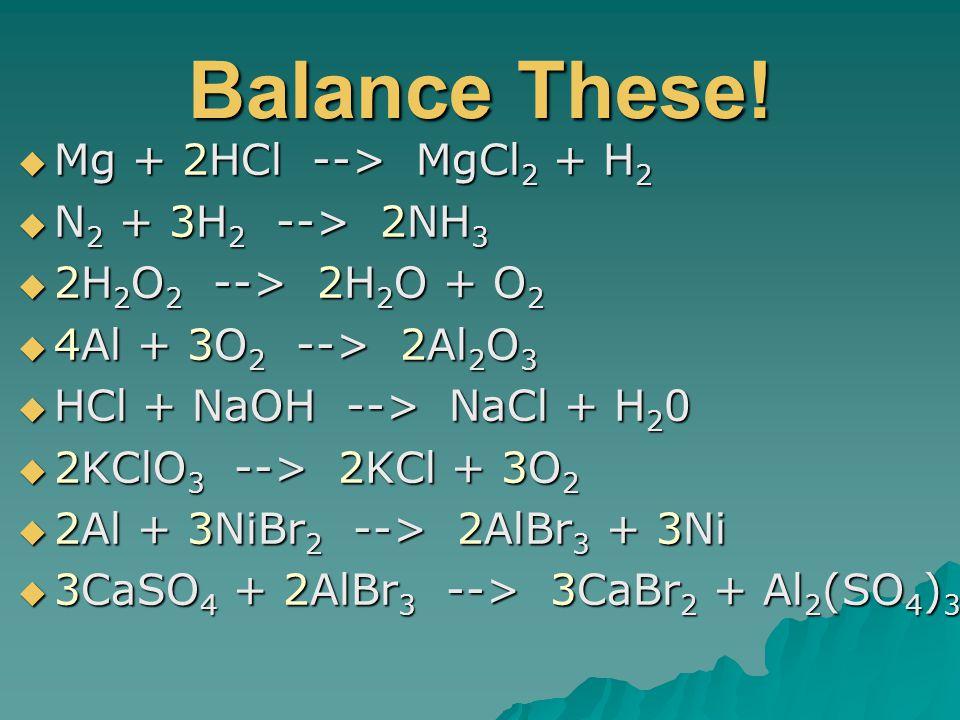 Balance These.