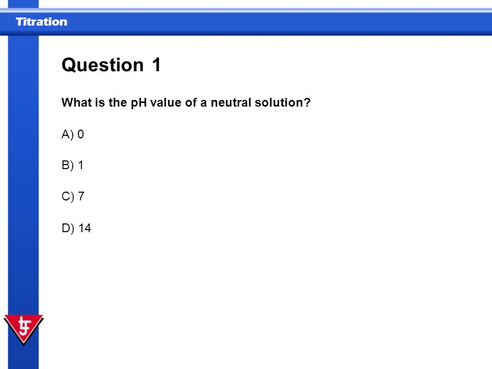 Titration 5 How is the concentration of a titrated solution calculated.