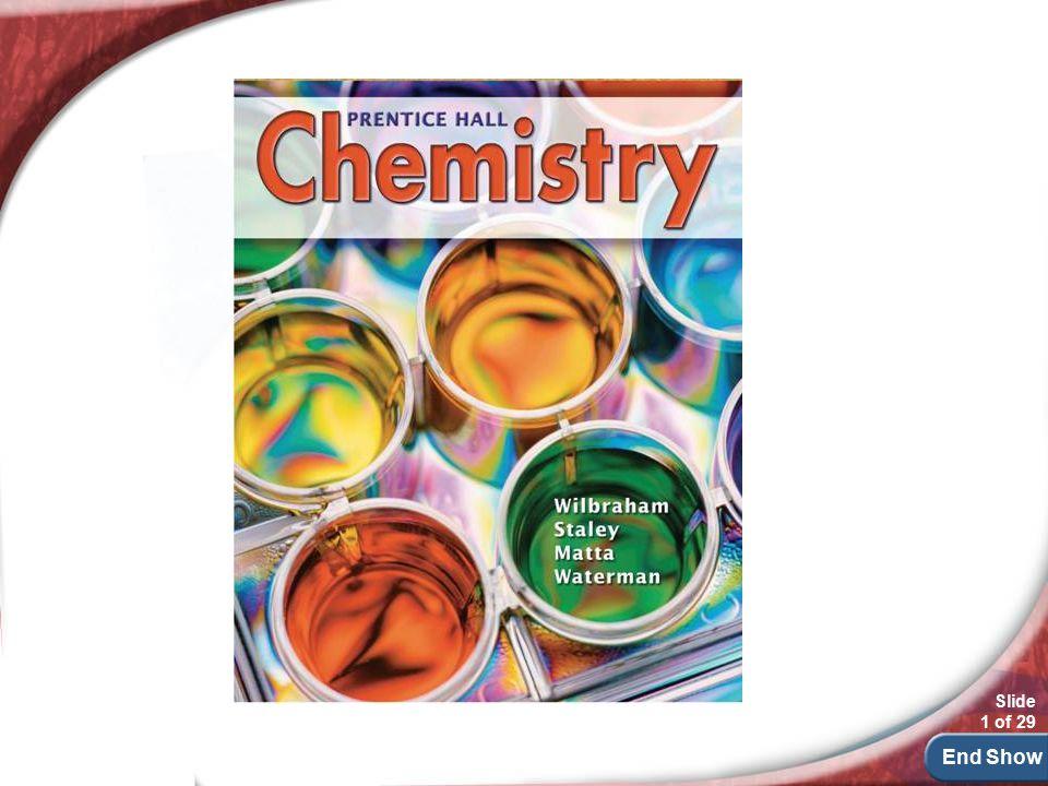End Show Slide 1 of 29 chemistry