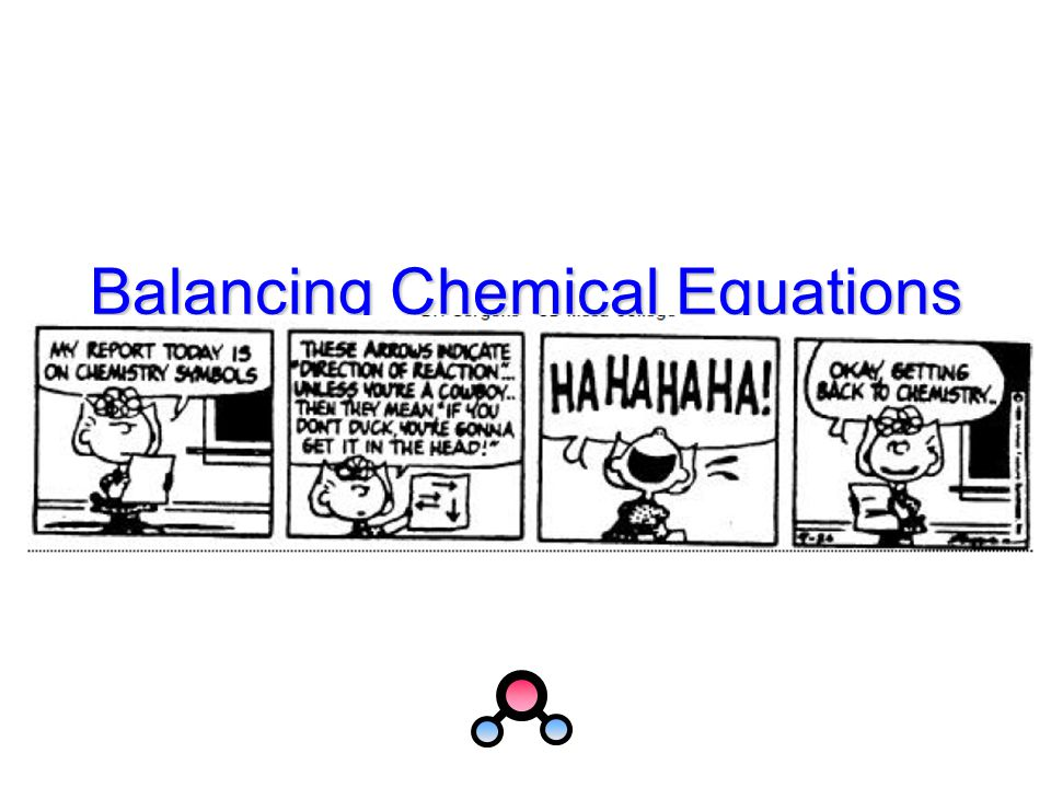 Balancing Chemical Equations An easier way