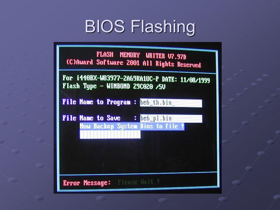 BIOS Flashing