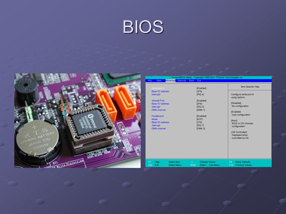BIOS Flashing BIOS software is in some regards like other software.