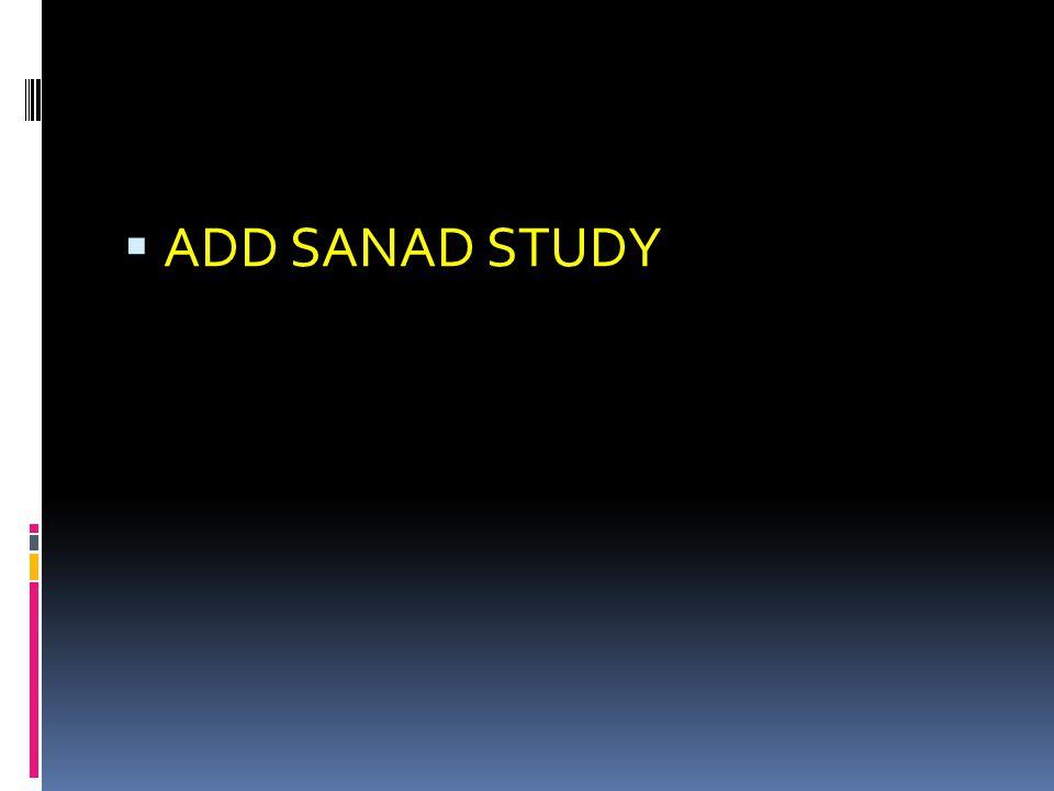  ADD SANAD STUDY
