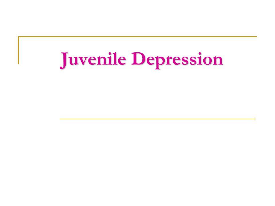 Juvenile Depression