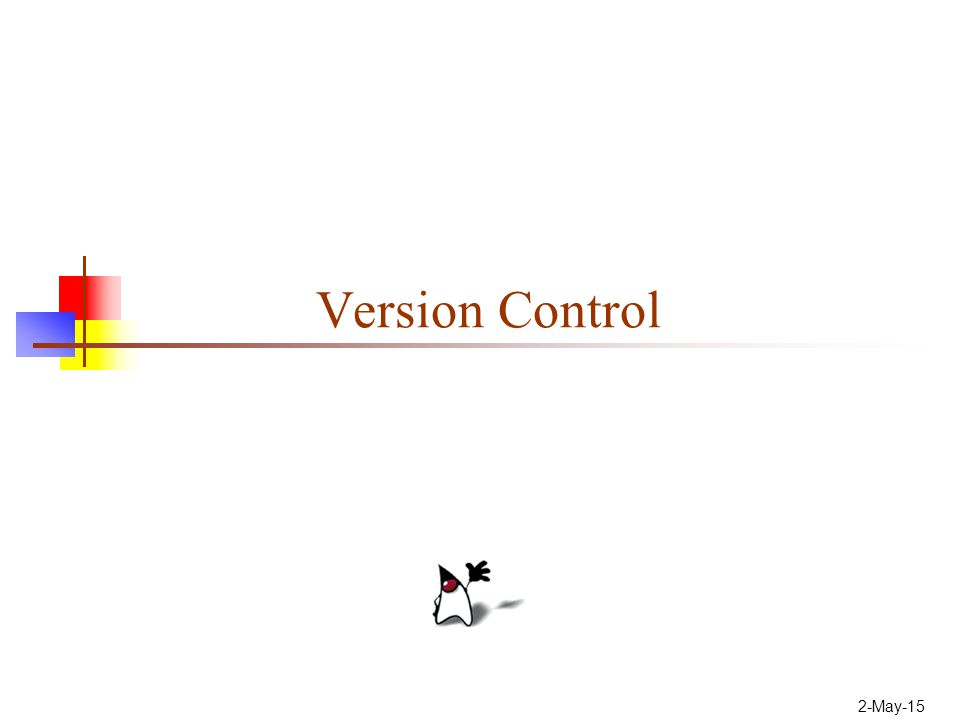 2-May-15 Version Control