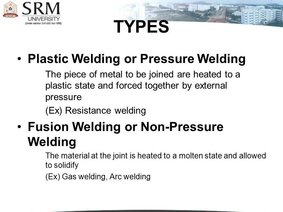 GAS WELDING EQUIPMENT...1. Gas Cylinders Pressure Oxygen – 125 kg/cm2 Acetylene – 16 kg/cm2 2.