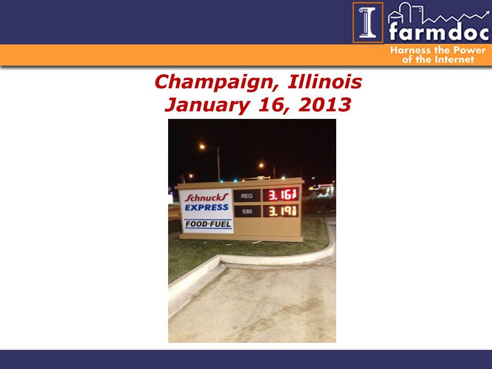 Champaign, Illinois January 16, 2013