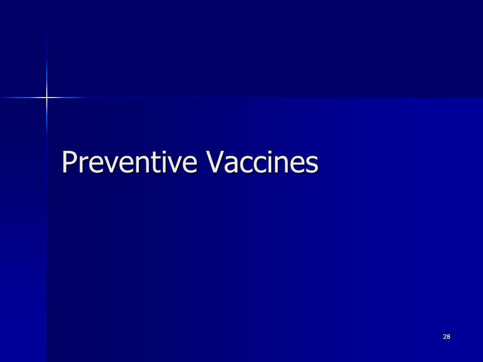 Preventive Vaccines 28