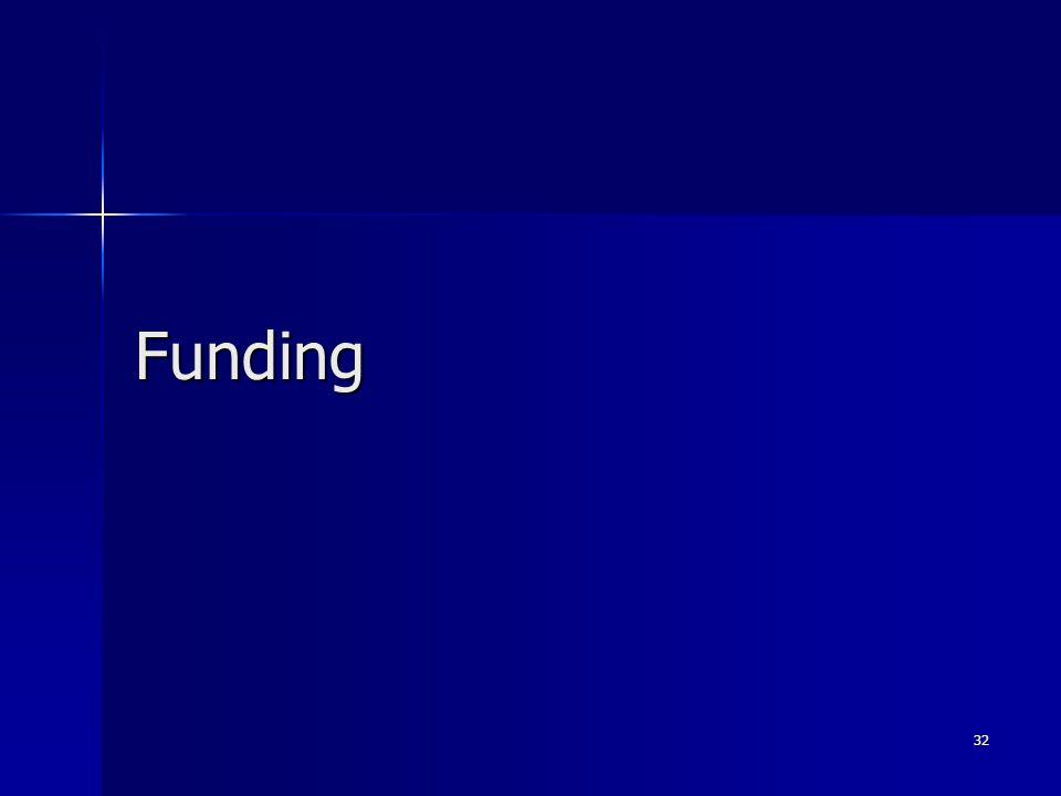 Funding 32