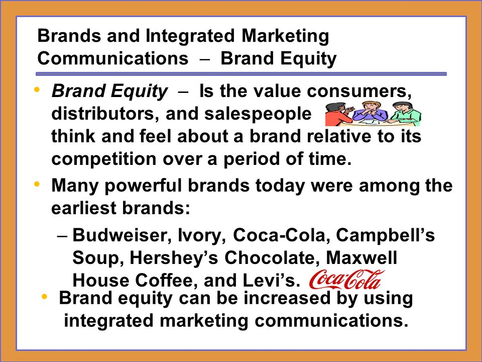 Brands and Integrated Marketing – Young & Rubicam's Brand Asset Valuator One of the most respected proprietary tools in the industry for assessing a brand's stature among consumers is the Brand Asset Valuator (BAV) created by Young & Rubicam (Y&R).