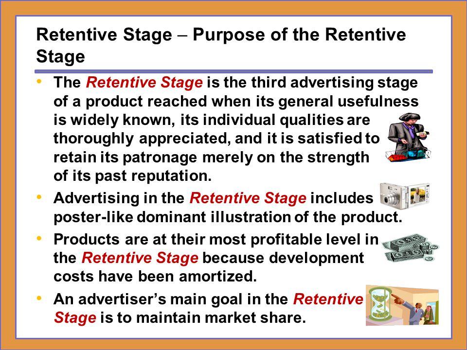 Brands in the Retentive Stage – Purpose of the Retentive Stage McDonald's.