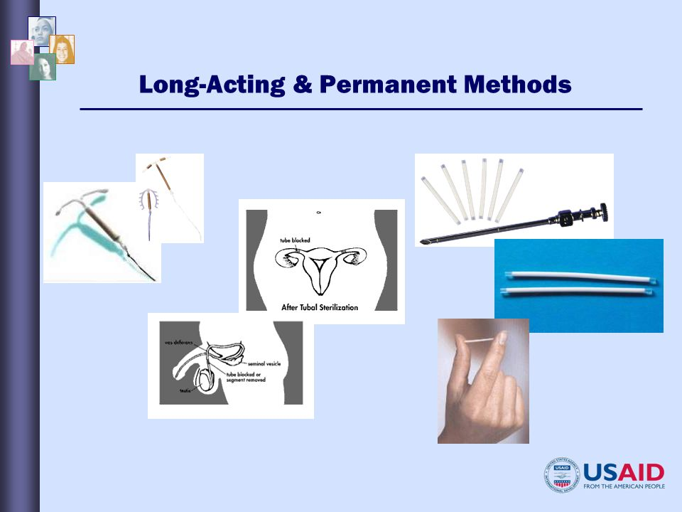 Long-Acting & Permanent Methods