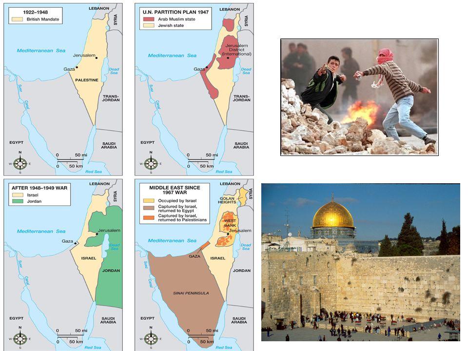Jerusalem West (Israeli); East (Arab) with Israeli settlements