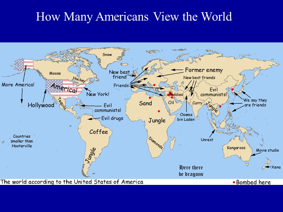 How Many Americans View the World