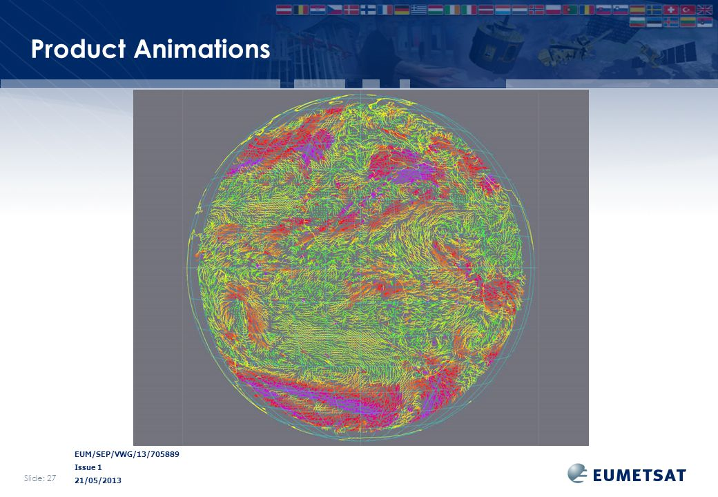 EUM/SEP/VWG/13/705889 Issue 1 21/05/2013 Product Animations Slide: 27
