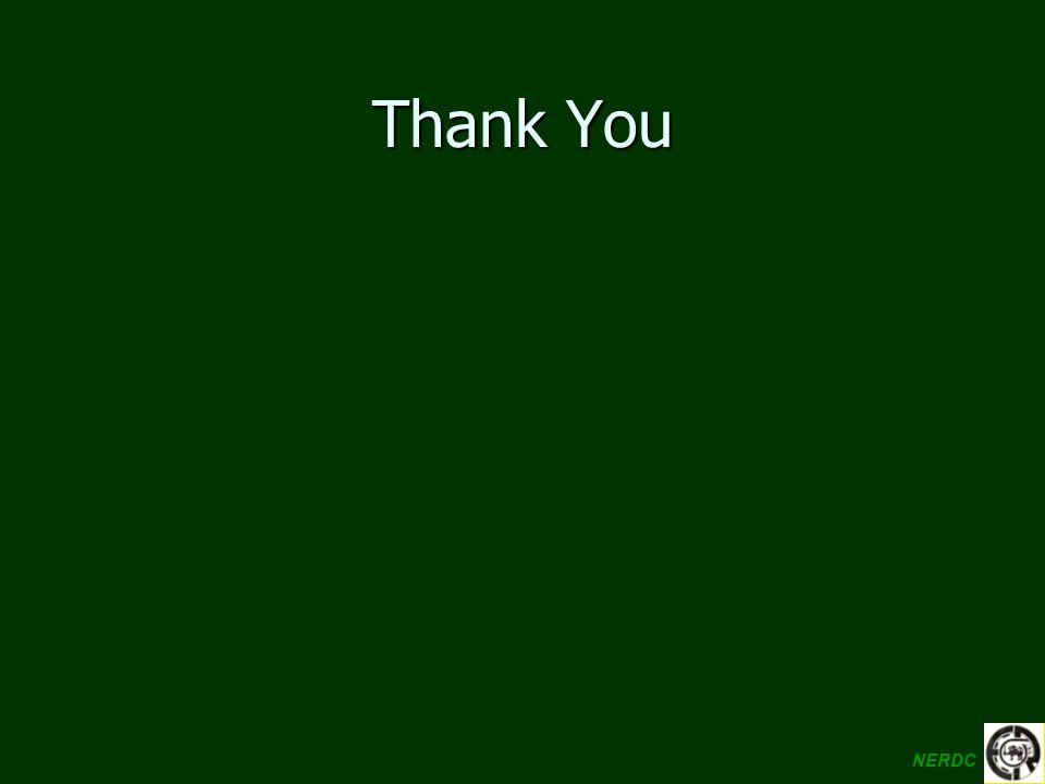 Thank You NERDC