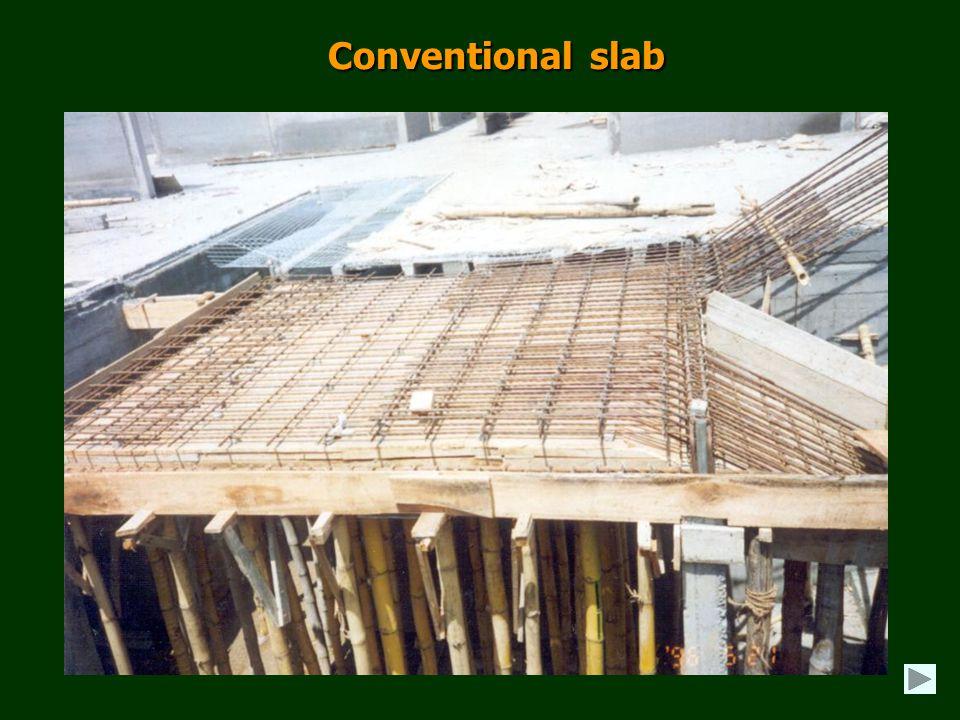 Conventional slab