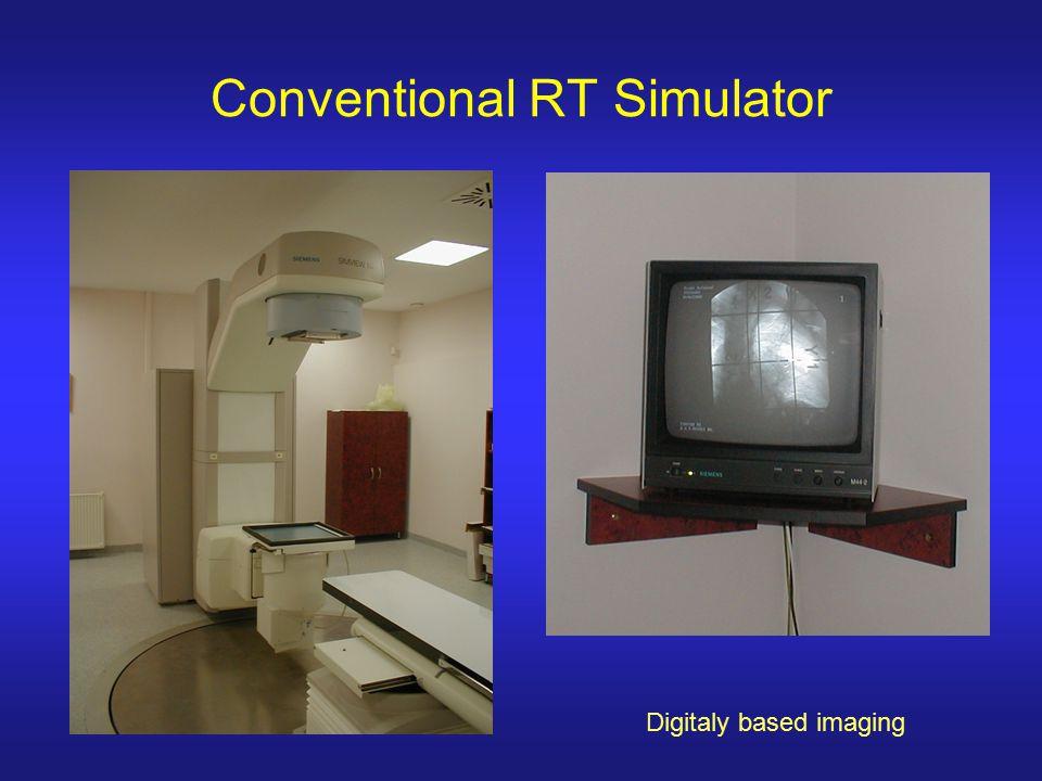 Digitaly based imaging Conventional RT Simulator