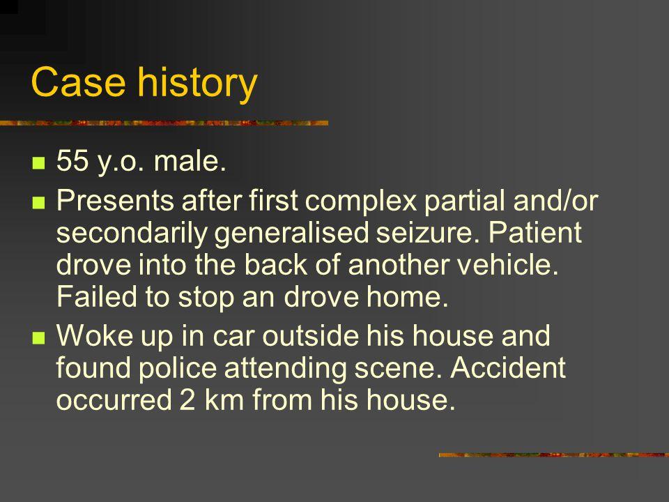 Case history 55 y.o. male.