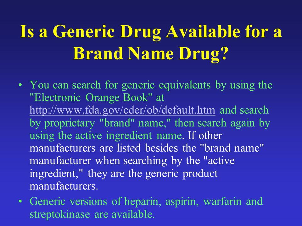 GENERIC VERSION OF BRAND LMW HEPARINS: ARE THE CURRENT REGULATORY GUIDELINES ADEQUATE.