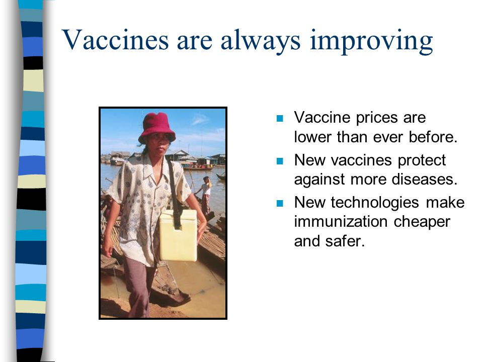 Important goals n 80% immunization coverage of all vaccines in all districts.