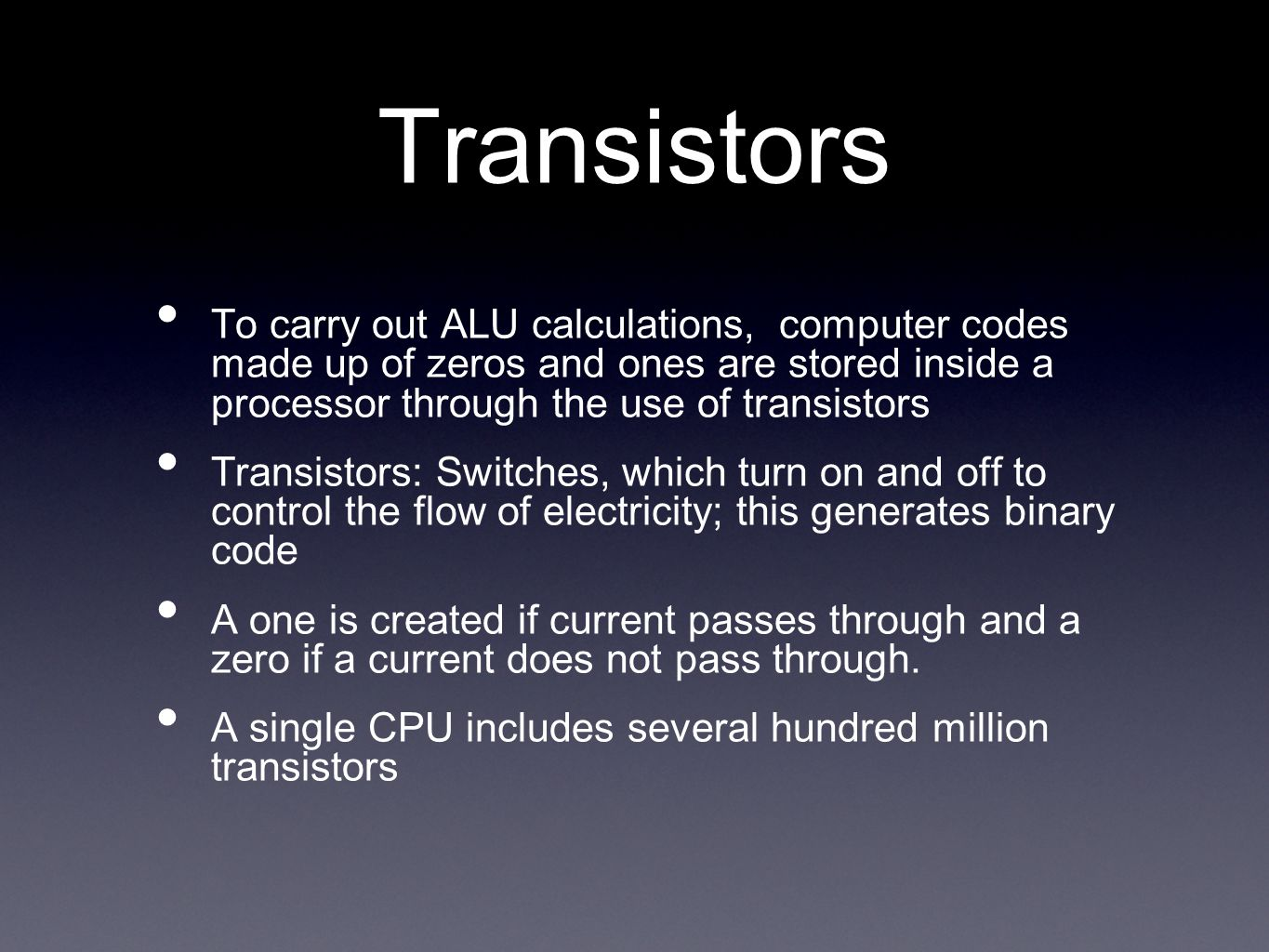 For a long time, processor clock speed was used as a measure of processor performance.