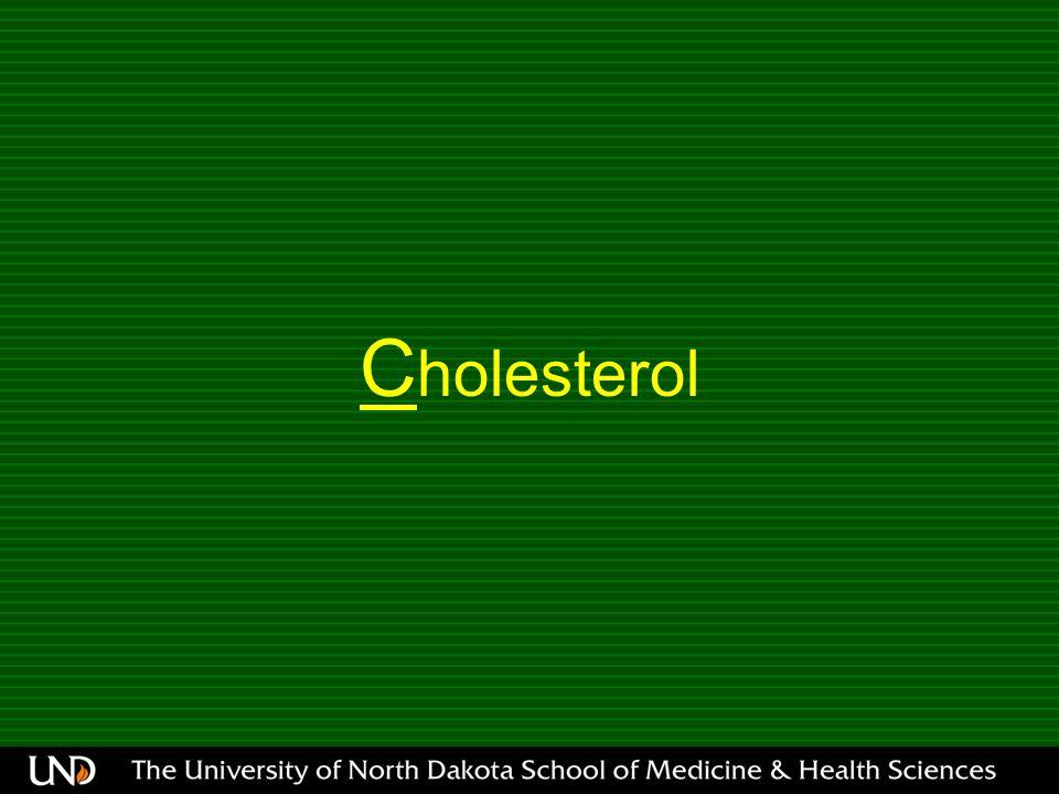 C holesterol