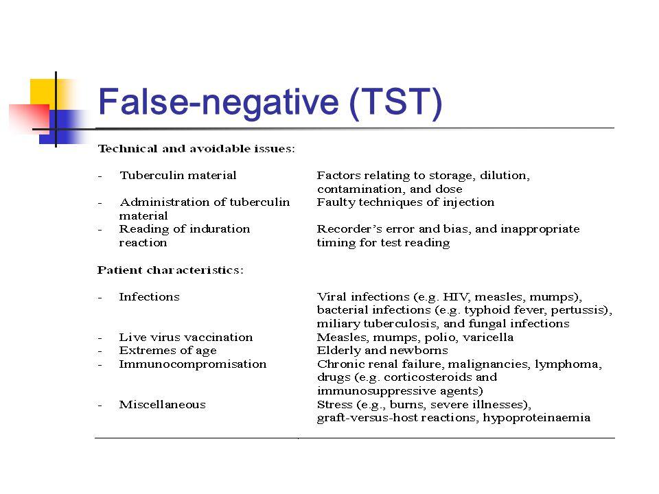 False-negative (TST)