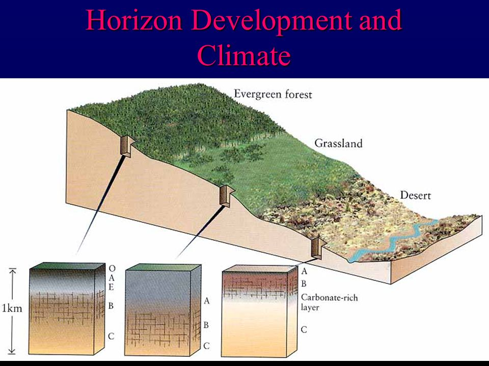Horizon Development and Climate