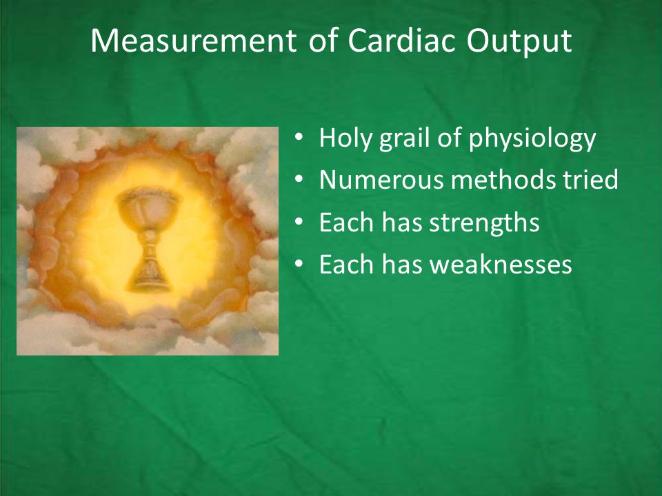 A doctor's intuition vs invasive measurements, specifically for CO estimation.