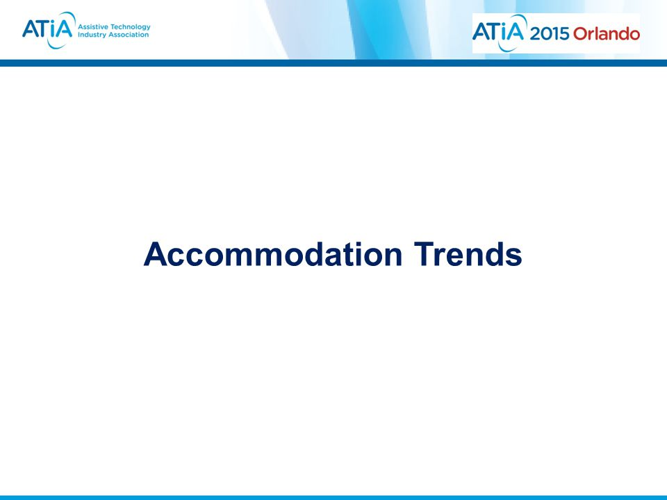 Accommodation Trends