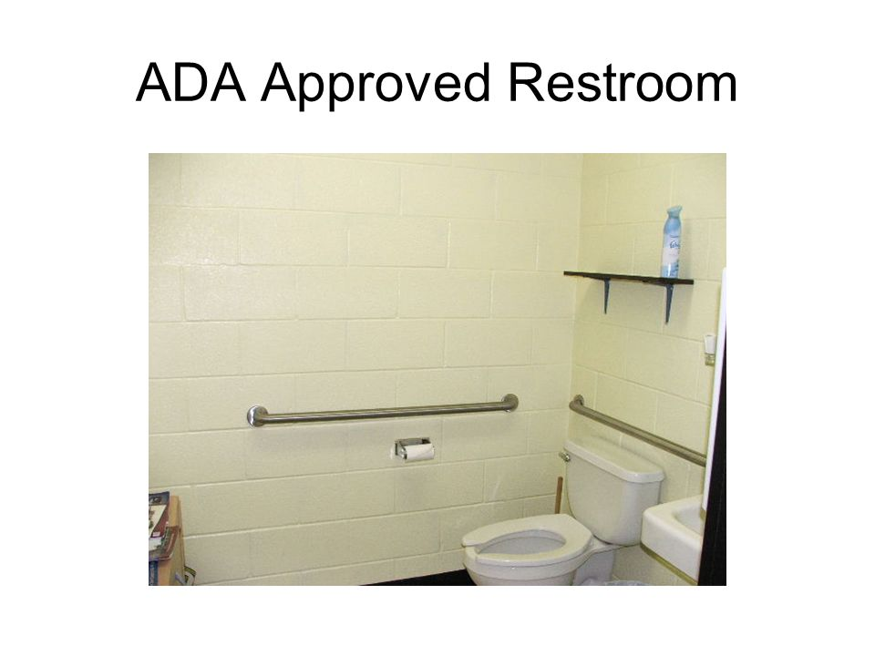 ADA Approved Restroom