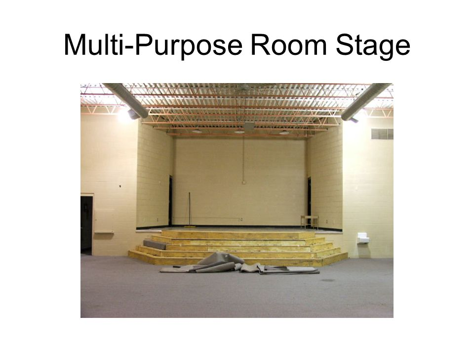 Multi-Purpose Room Stage