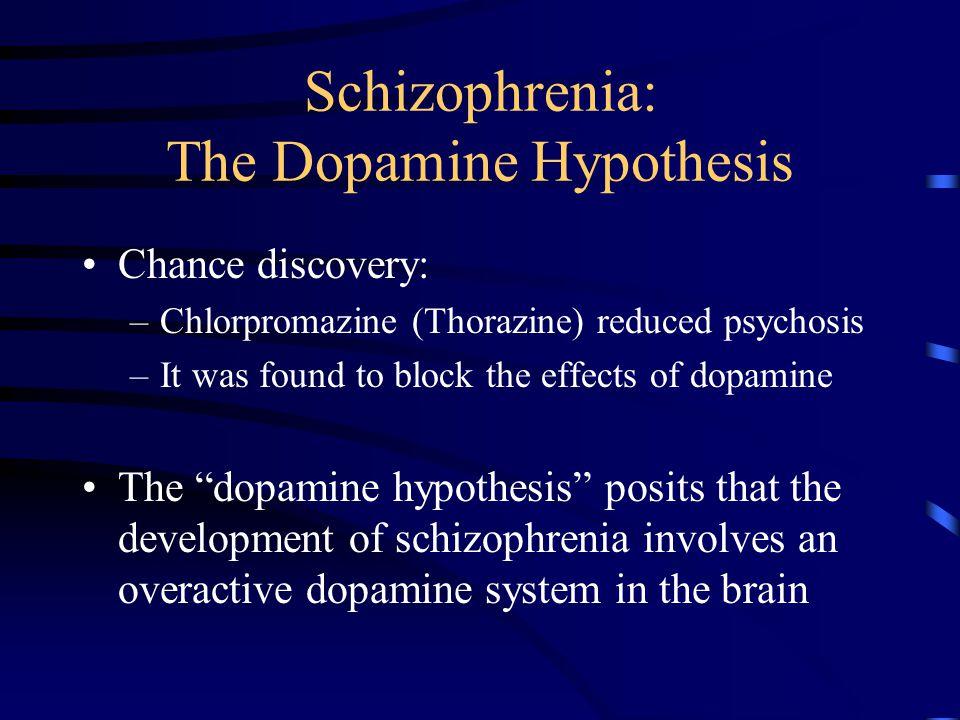 Side Effects Low potency anti-psychotic medication (e.g., chlorpromazine) cause more of the non-motoric side effects –sedation (H-1 blockade) –hypotension (alpha-adrenergic blockade) –anti-cholinergic
