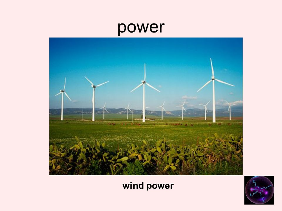 power wind power