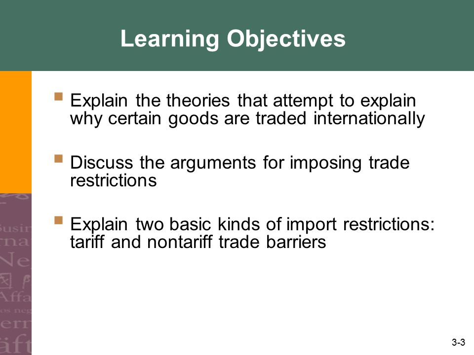 3-14 How Can Money Change The Direction of Trade.