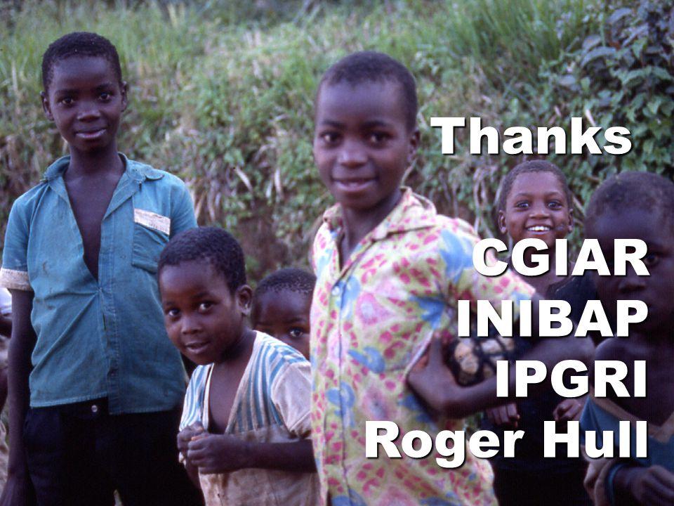 ThanksCGIARINIBAPIPGRI Roger Hull