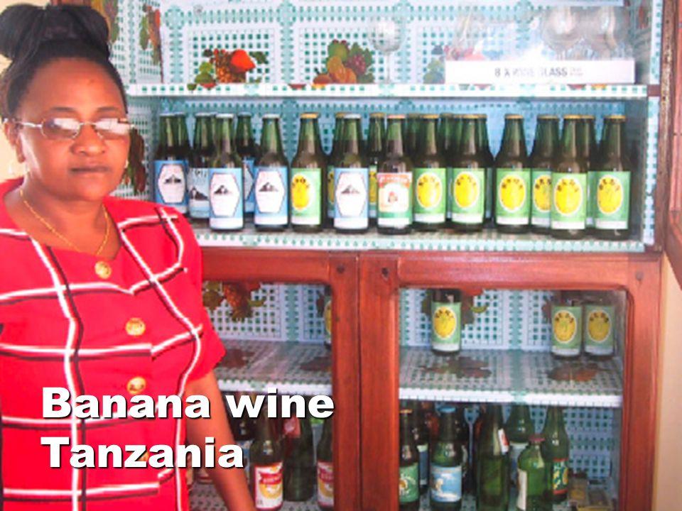 Banana wine Tanzania