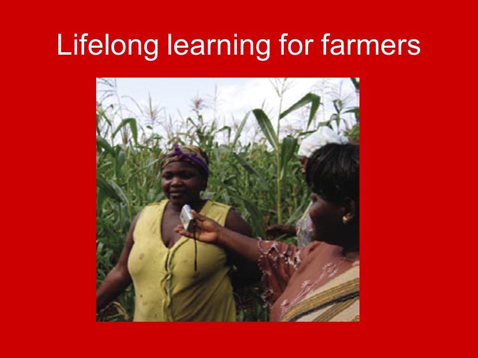 Lifelong learning for farmers
