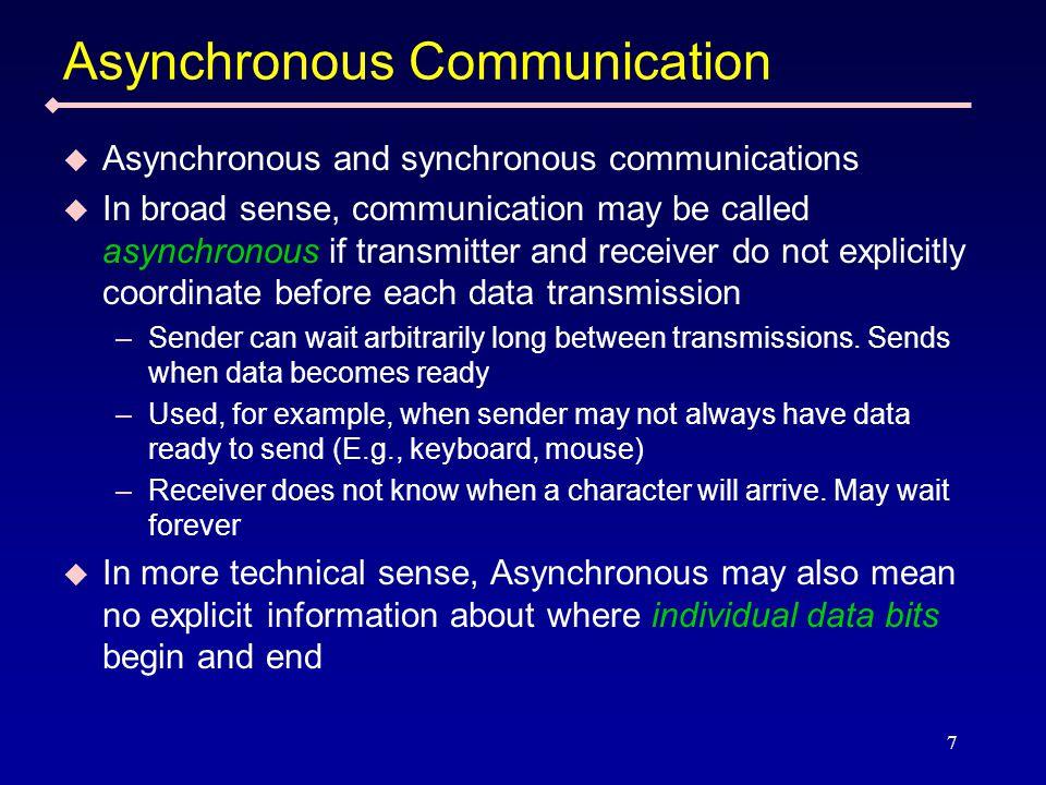 8 Asynchronous Vs.