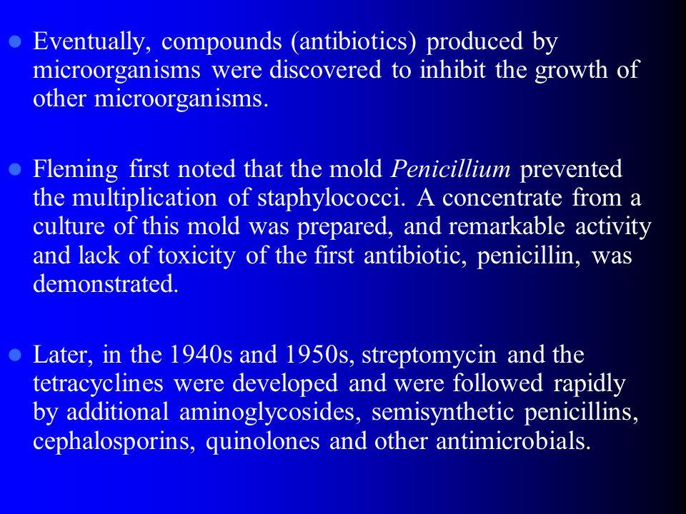 Beta-lactam antibiotics - penicillins – Resistant to staphylococcal penicillinase oxacillin methicillin – Combination with inhibitors of bacterial beta- lactamases ampicillin/sulbactam amoxicillin/clavulanic acid piperacillin/tazobactam