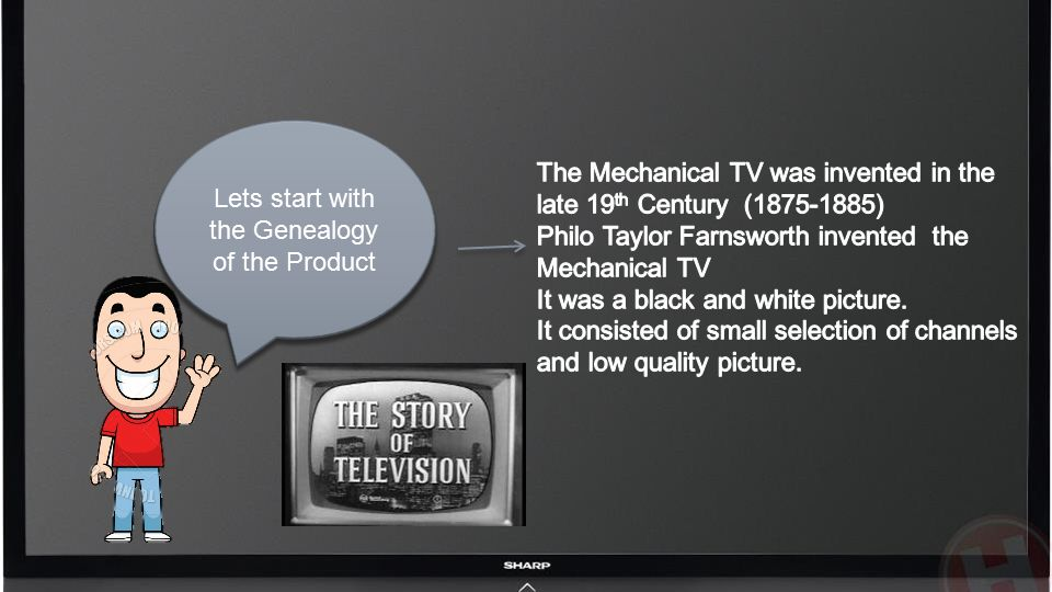 Lets start with the Genealogy of the Product