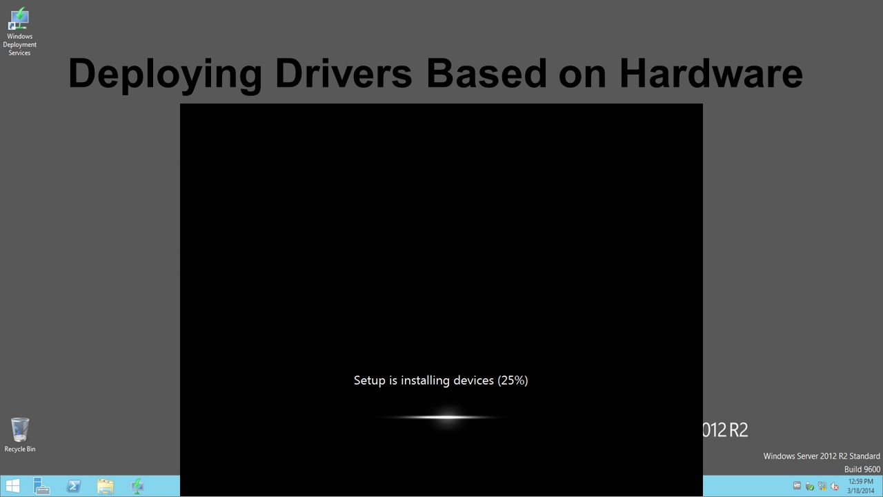 Deploying Drivers Based on Hardware